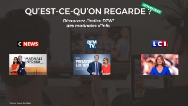Indice Drive-to-Web TV novembre