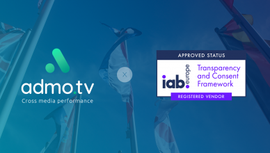 Admo.tv certifié IAB Europe
